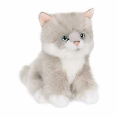 Baby anna plush ragdoll kitten/poes zittend speelgoed