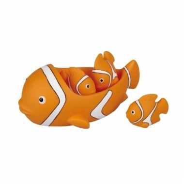Baby badspeeltjes clownsvis/nemo speelgoed
