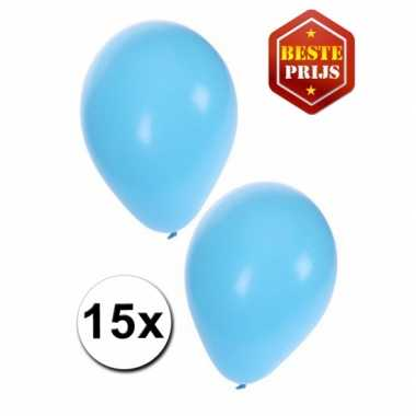 Baby blauwe ballonnen x speelgoed
