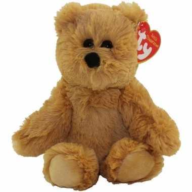 Baby bosdieren knuffels beer bruin ty beanie humphrey speelgoed