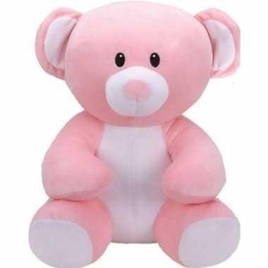 Baby bosdieren knuffels beer roze ty beanie princess speelgoed
