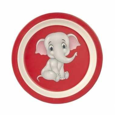 Baby broodbordje olifant speelgoed