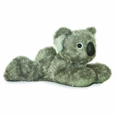 Baby buideldieren knuffels koala grijs speelgoed