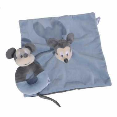 Baby disney geschenkset blauw speelgoed