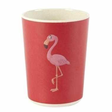 Baby drinkbekertje flamingo speelgoed