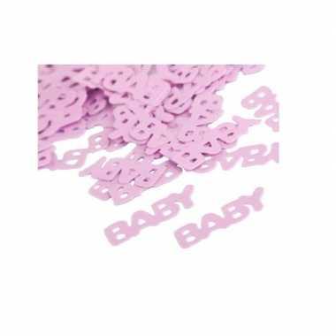 Baby  Geboorte meisje confetti speelgoed