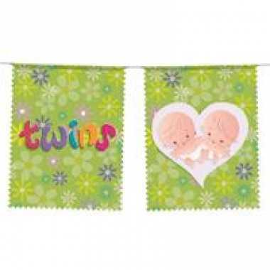 Baby  Geboorte vlaggenlijn meisjes tweeling speelgoed