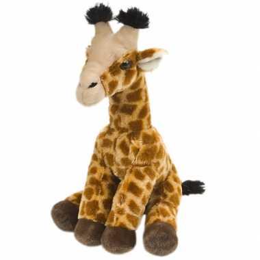 Baby  Giraffe knuffel kraalogen speelgoed