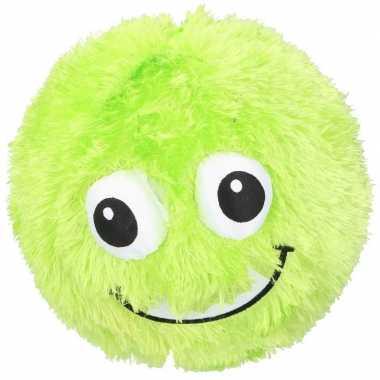Baby groene pluche bal gezicht speelgoed
