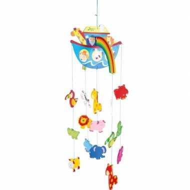 Baby hangdecoratie mobiel ark noach meisjes speelgoed