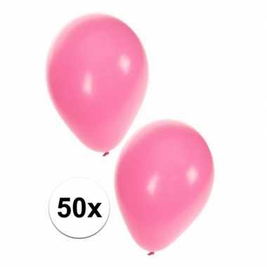 Baby  Helium ballonnen lichtroze stuks speelgoed