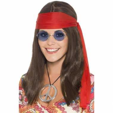 Baby hippie pakketje pruik dames speelgoed