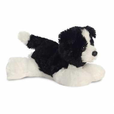 Baby honden dieren knuffels border collie speelgoed