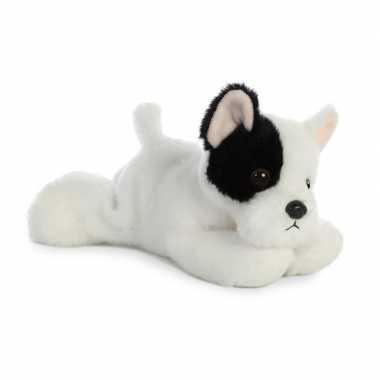 Baby honden dieren knuffels franse bulldog speelgoed