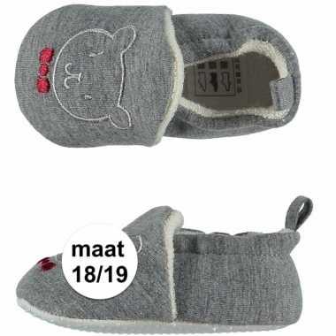 Baby jongens pantoffels beertje maat / speelgoed