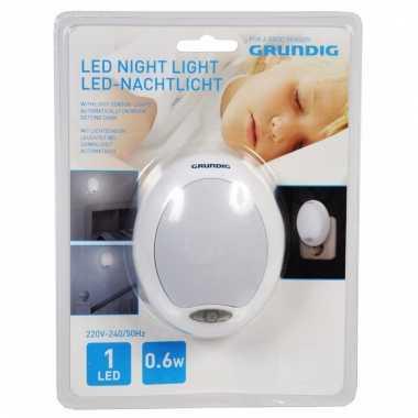 Baby kinderkamer nachtlampje wit led speelgoed