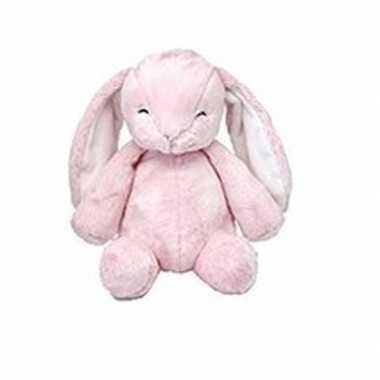 Baby knaagdieren knuffels konijn roze speelgoed