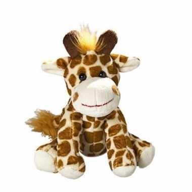 Baby knufeldier giraffe . speelgoed