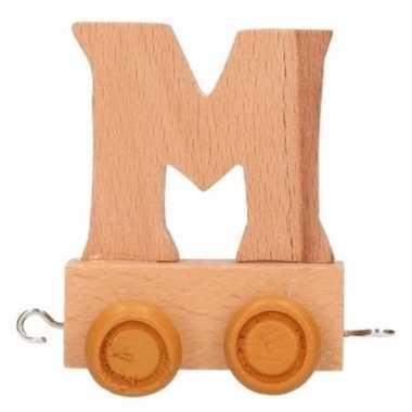 Baby  Letter speelgoed letter M