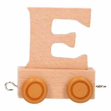 Baby  Letter speelgoed treintje E