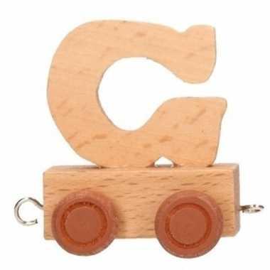 Baby  Letter speelgoed treintje G