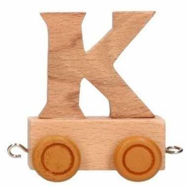 Baby  Letter speelgoed treintje K