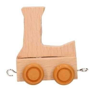 Baby  Letter speelgoed treintje L