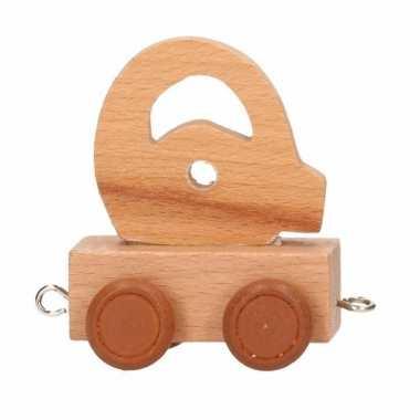 Baby  Letter speelgoed treintje Q