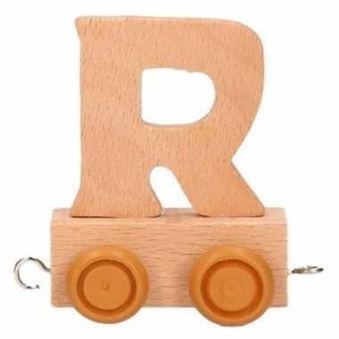 Baby  Letter speelgoed treintje R