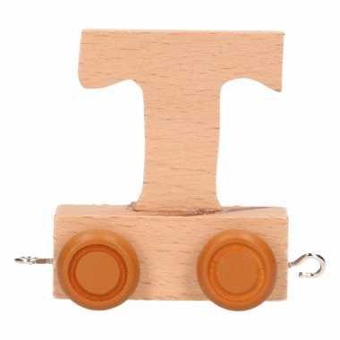 Baby  Letter speelgoed treintje T