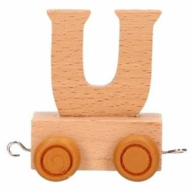 Baby  Letter speelgoed treintje U