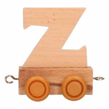 Baby  Letter speelgoed treintje Z