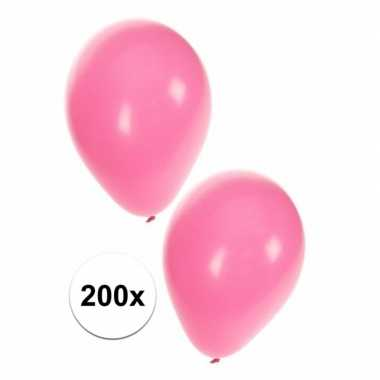 Baby licht roze feest ballonnen st speelgoed