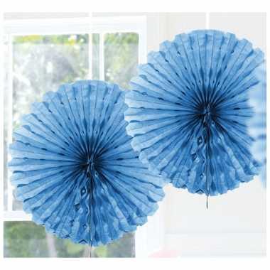 Baby  Lichtblauwe versiering waaier speelgoed