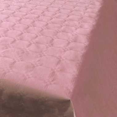 Baby lichtroze papieren tafellaken/tafelkleed rol speelgoed