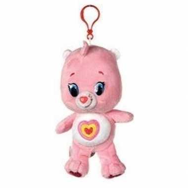 Baby lichtroze troetelbeer knuffelbeertje sleutelhanger speelgoed