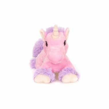 Baby magnetron roze paard knuffeldier speelgoed