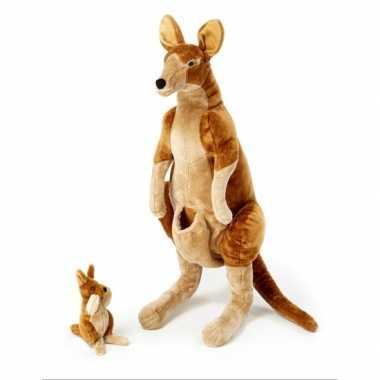 Baby  Mega knuffel kangoeroe meter speelgoed