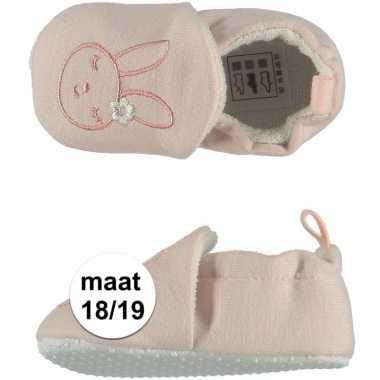 Baby meisje pantoffels konijntje maat / speelgoed