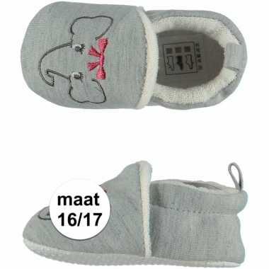 Baby meisje pantoffels olifantje maat / speelgoed