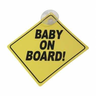 Baby on board veiligheidsbord zuignap speelgoed