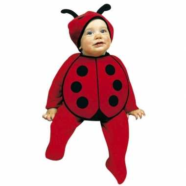 Baby outfit lieveheersbeestjes speelgoed