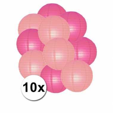 Baby  Party lampionnen roze lichtroze x speelgoed