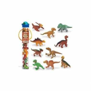 Baby plastic figuren dinosaurus babies speelgoed