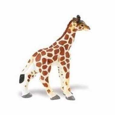 Baby plastic somalische giraffe kalf speelgoed