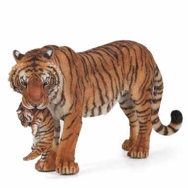Baby plastic tijgerin welpje , speelgoed