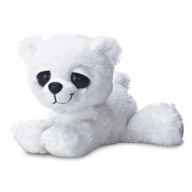Baby pluche ijsbeer knuffel speelgoed