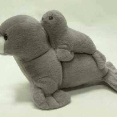 e96932aeea5 Speelgoed baby zeehond knuffel pluche kleintje - Peel en Maas