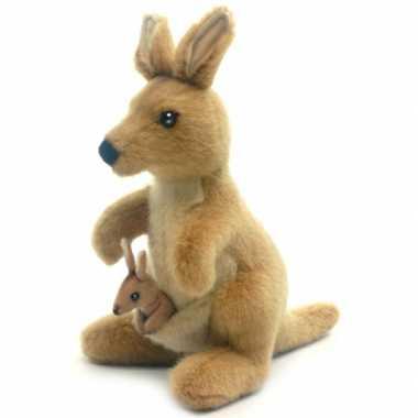 Baby  Realistische knuffel kangoeroe speelgoed