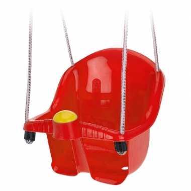 Baby rode peuterschommel touw speelgoed